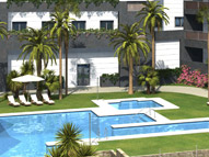 RESIDENCIAL ARIES piscina